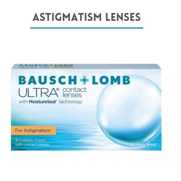 عدسات أستجماتيزم- Astigmatism Lenses